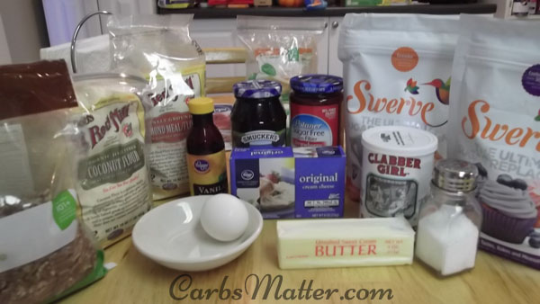 Holiday Cookie Ingredients