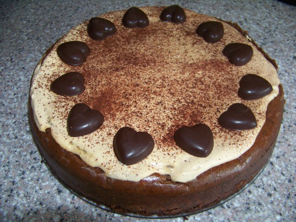 Mocha Cheesecake at Low Carb Yum